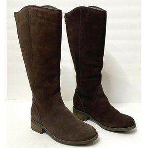UGG Australia Seldon Tall Suede Riding Boots